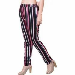 Ladies/Women Stripped Palazzo Pants