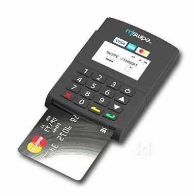 ms wipe g2 card swipe machine at rs 3500 piece card swipe machine