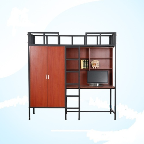 Oliver Standard And Custom Size Loft Bed Set With Study Wardrobe Rs