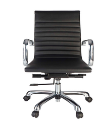 Sleek Leatherite LB Chair