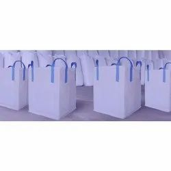 White Plain HDPE Woven Laminated Bag