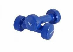 Steel Round Aerobic Dumbbells, Weight: 2-3 Kg