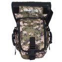 AdventIQ Smart Multi-functional Military Thigh Leg Drop-Waist Tactical Pouch Bag