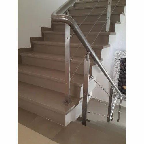 MS Stair Railing, MS Railing, माइल्ड स्टील रेलिंग, हल्के ...