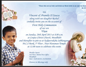 Holy Communion Cards Service