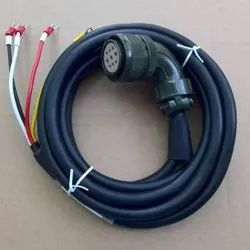 Delta Servo Power Cable Asd-Capw1203 3mtr For Delta B2 Series Servo Motor