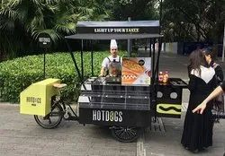 Stainless Steel Food Cart For Sale, Capacity: 400kg
