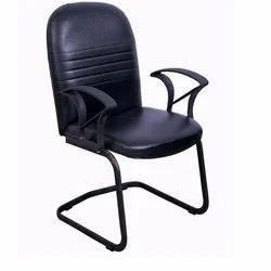 Black Teacher Arm Chair, Height: 3 feet