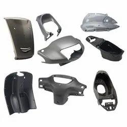 plastic parts for 2 wheeler