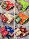 Festive Wear Rich Design In Chanderi Saree