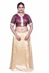 Jamawar Silk Blouse