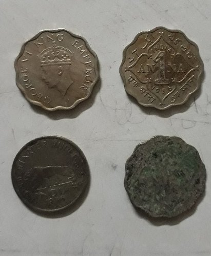 British Coins and Old Antic Coin Dam Mughal Samrajya    Retailer