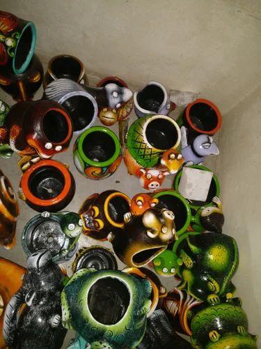 Fancy Colorful Flower Pots