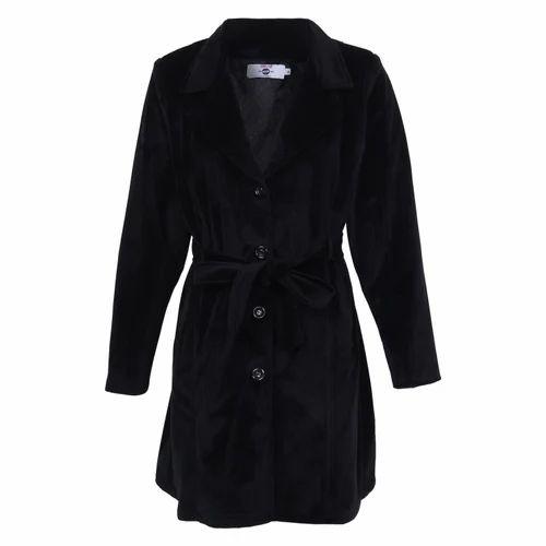 b0c2b7a10d3 Ladies Coat - Long Coat Velvet Manufacturer from New Delhi
