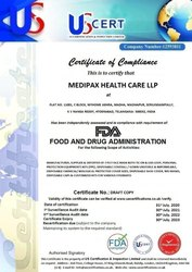 Manufacturing And Trading Private Limited FDA Compliance