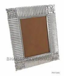Pure Silver Carving Photo Frame