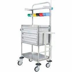 Carevel Fully Stainless Steel Crash Cart