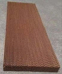 Brown Air Washer Cellulose Cooling Pad