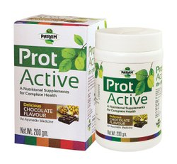 Chocolate Prot Active Powder, For Protein Supplement, 200 Gm