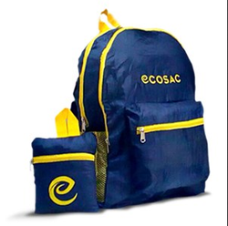 7cbb64cc4c4b Black   Yellow Double Zipper Backpack
