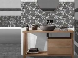 Ceramic Flower Bathroom Wall Tiles, Thickness: 5-10 mm, Packaging Type: Box Packing