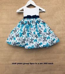 Mini Elegance Cotton Casual Wear For Girls