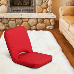 Relaxing Meditation and Yoga Chair with Back Support Memory Foam Seat Cushion Floor Chair
