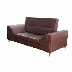 Fabric Modern Two Seater Sofa