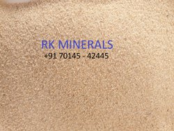 Brown Silica Sand (BAJRI), For Glass, Packaging Size: 50 Kg,1000 Kg