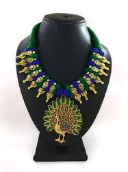 Meenakari Necklace With Traditional Style