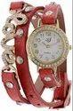 Party Wear Round Designer Girl Bracelet Watch
