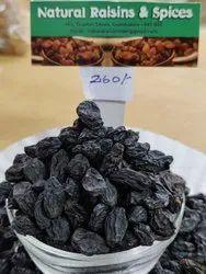 Black Dried Raisins, Packaging Type: Packet, Plastic Bag, Packaging Size: 250G-20 Kg