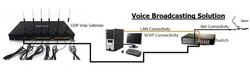 Gsm And Voip Voice Broadcasting Services