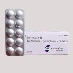 Etoricoxib And Tolperisone Hydrochloride Tablet