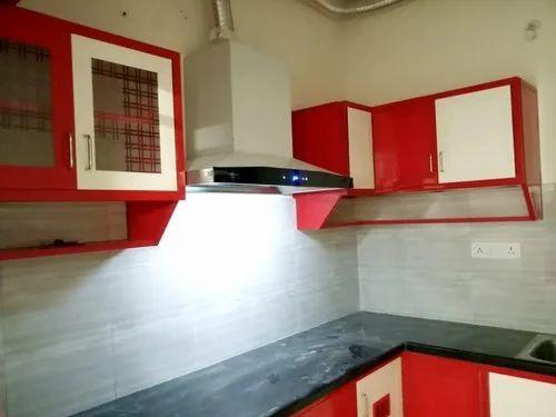 Pvc Modular Kitchen प व स, 10×10 Kitchen Cabinets Cost