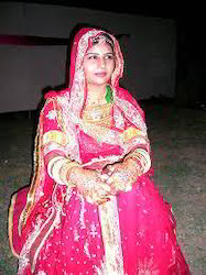 Ladies Rajputi Bridal Poshak