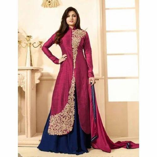 0e15f90282 Semi-stitched Designer Ladies Lehenga Suit, Rs 1000 /piece   ID ...
