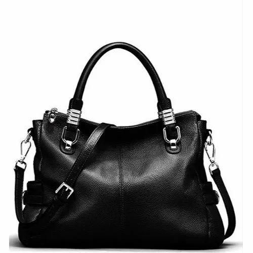 Ladies Black Handbag d5e5390355