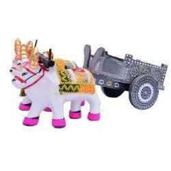 Bull With Bull Cart