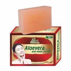 Aloevera Haldi Chandan Soap ( Helps in Soothing Skin Irritation)