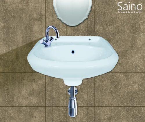 Saino Blue And Pink Vessel Sinks