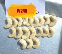 Raw Natural Cashew Nut W240, Packaging Type: Tin, Packaging Size: Loose