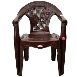 Avro 3052 Brown Molded Plastic Chair