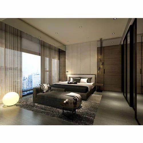 Interior Designing Services: Bedroom Interior Designing Services In Pune, Rs 100000