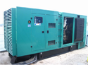 Sound Proof Canopy Cummin Generators