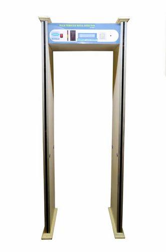 Six Zone Door Frame Metal Detector, metal detector door - Sindhu ...
