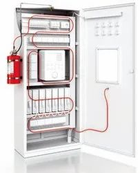 Fire Suppression System For Electrical Control Cabinets