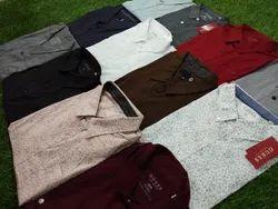 Cotton/Linen Casual Wear 100% Original Guess Shirts, Size: Medium