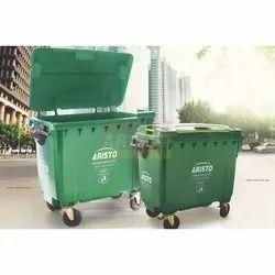 Plastic Wheel Waste Bin