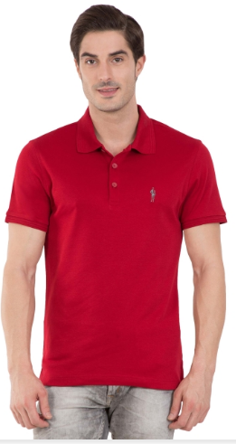 c28f62e7 Jockey Shanghai Red Polo T-Shirt at Rs 799 | Gachibowli | Hyderabad ...